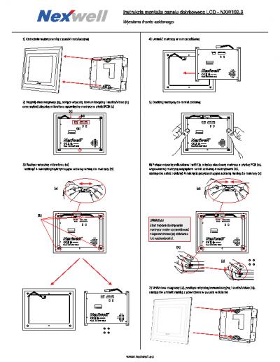 NXW102.3 – Wymiana frontu szklanego