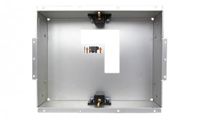 Installation box for the LCD touch panel 8,4""