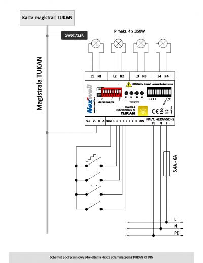 NXW222.4 – Schemat podłączeniowy [PDF]