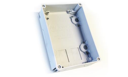 Unterputzgehäuse für WPD/Bereichstastatur