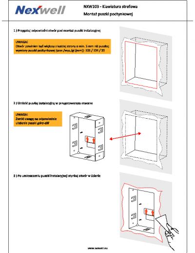 Instrukcja montazu
